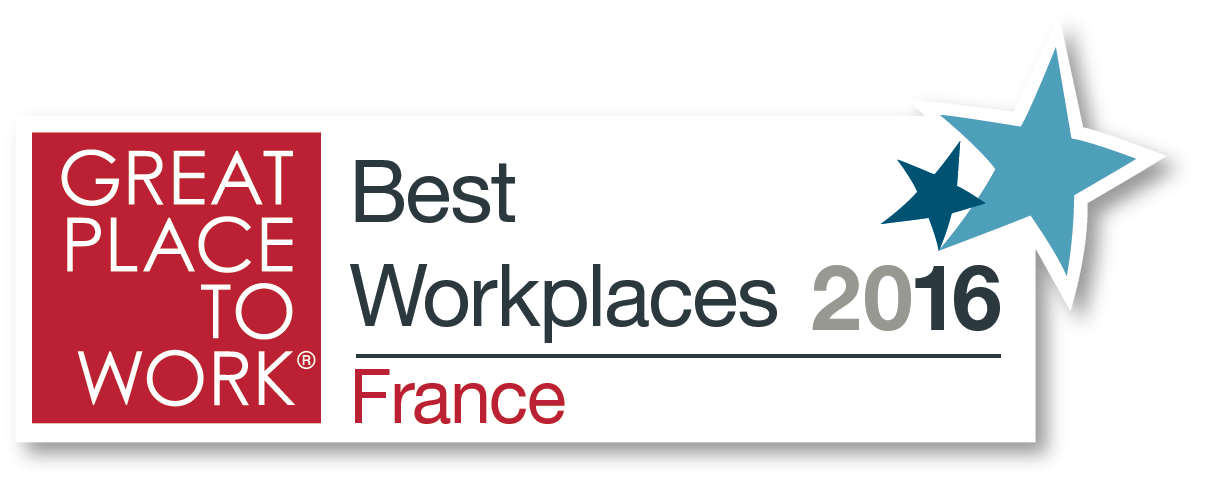 great place to work palmares 2016