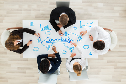 travail nomade et coworking