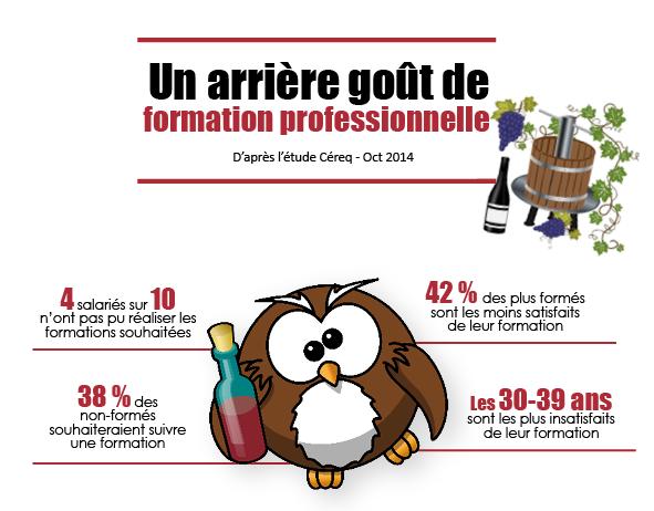Infographie : les freins à la formation professionnelle
