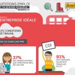 Infographie de l'entreprise idéale