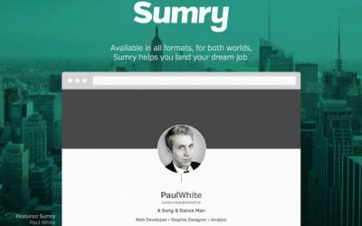 Sumry : la plateforme de recrutement basée sur la personnalité